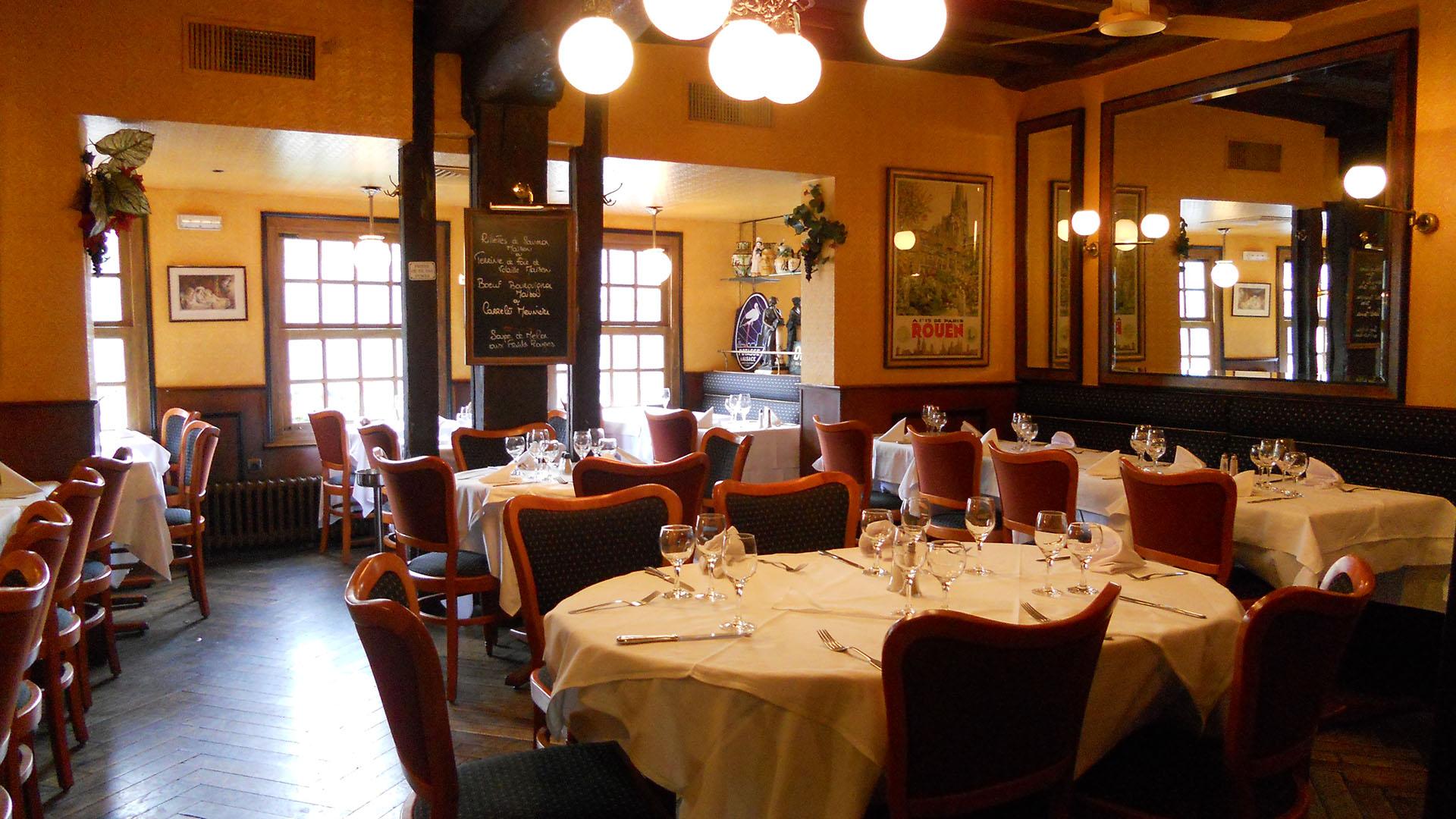 bistrot gourmand et gastronome à Rouen